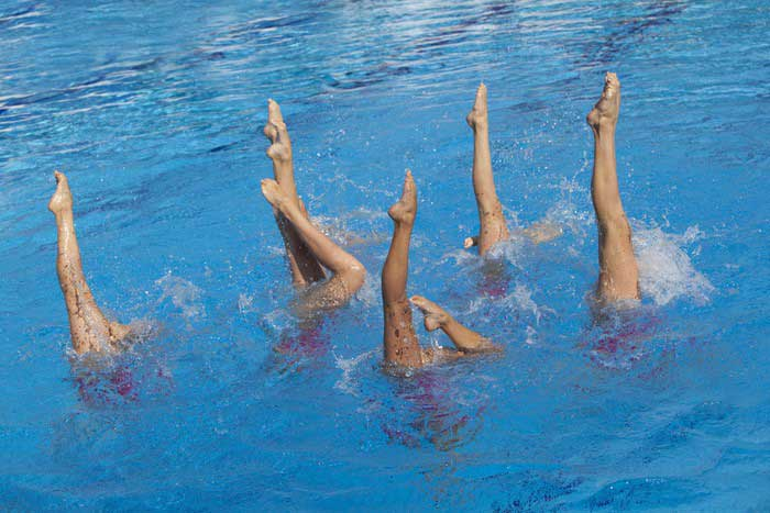 שחייה אומנותית צורנית   הפועל ירושלים שחייה