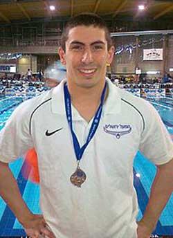 יהב שחף. אלוף ישראל ושיאן ישראל במשחה ל-50 מטר חופשי