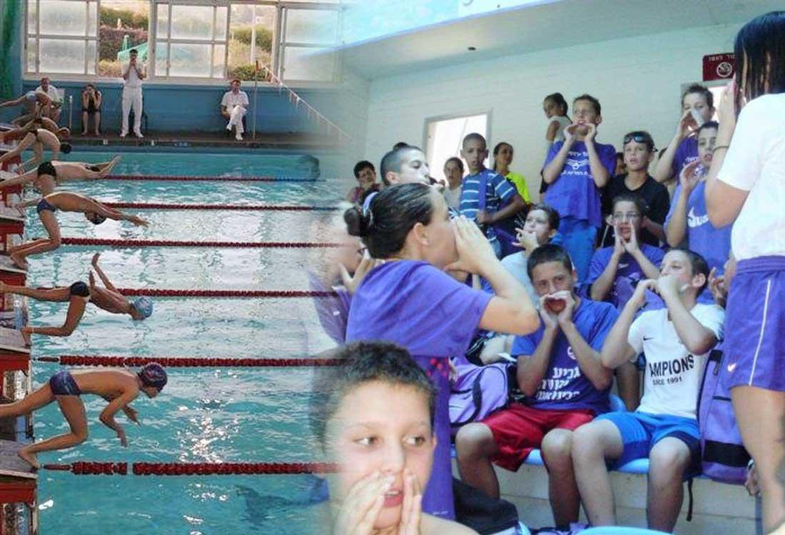 קבוצת כריש נבחרת שחייה | הפועל ירושלים שחייה